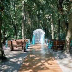 Виїзна церемонія в лісі