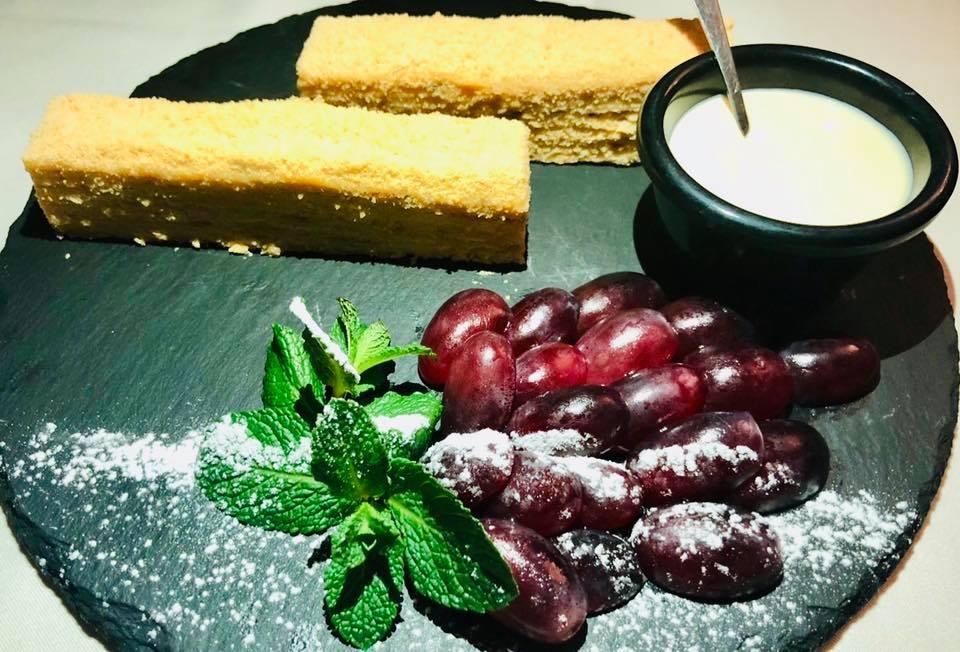 Гарбузовий торт Наполеон