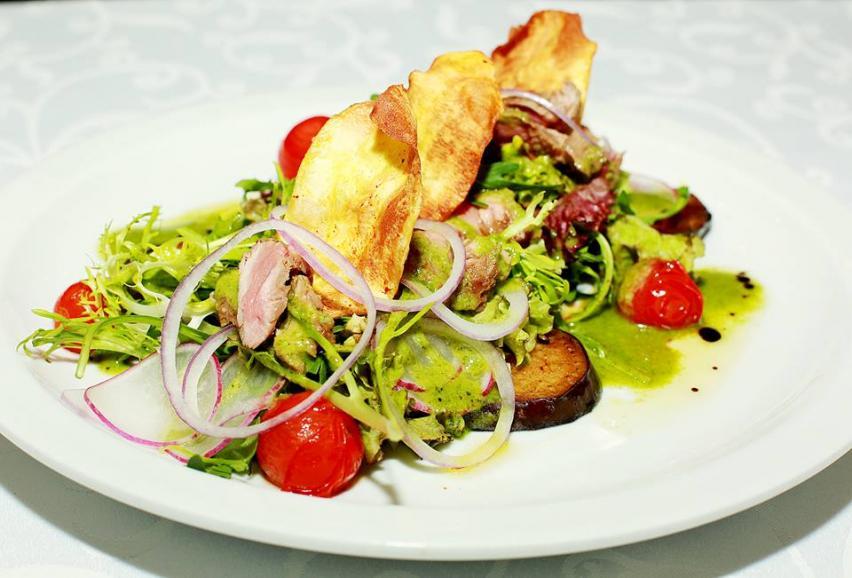 Овочеві салати від ресторану польської кухні Краків